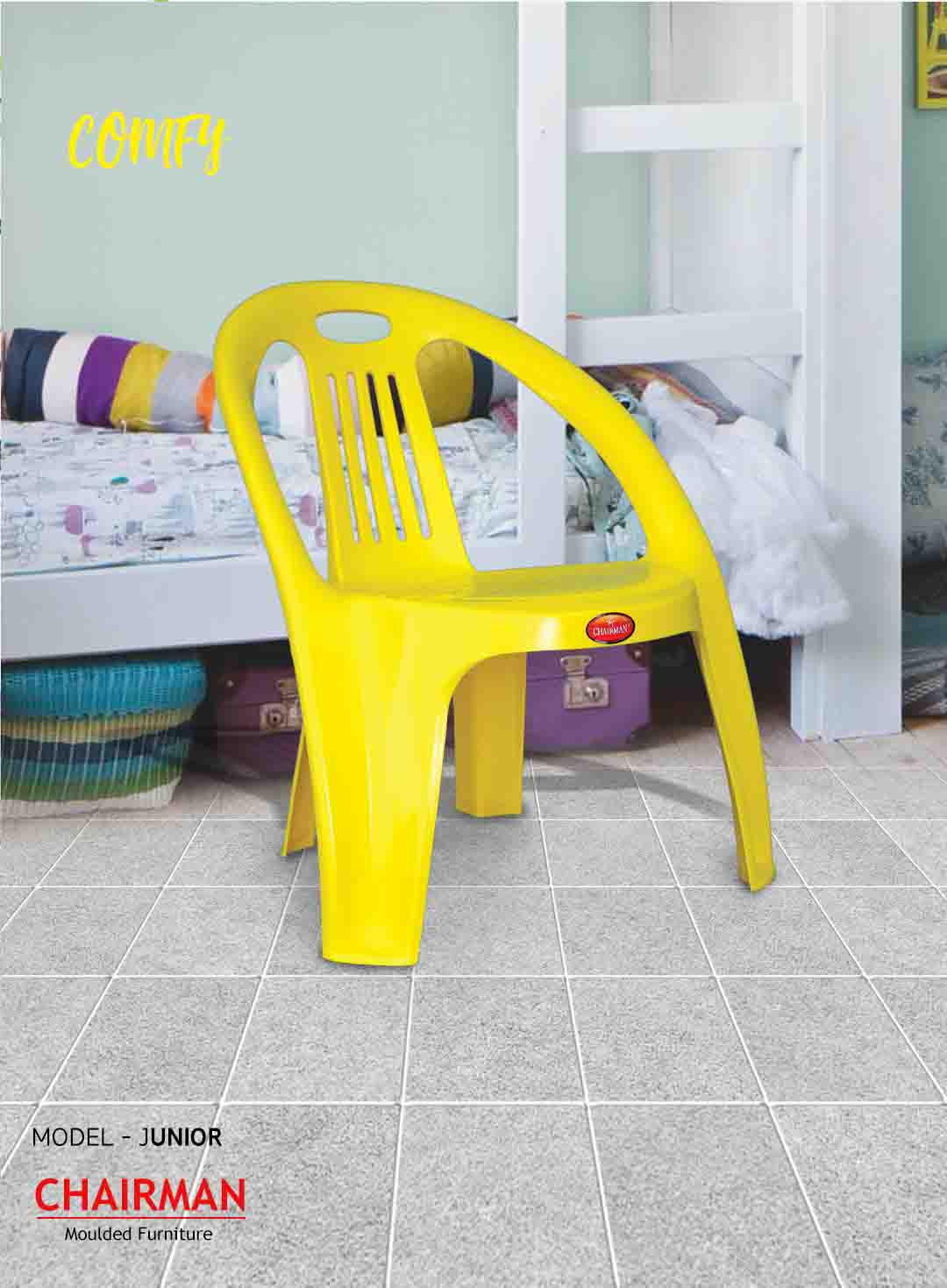 Moulded plastic furniture